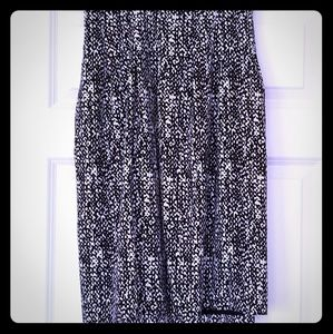 Talbots Brand New silky knee length spring skirt!